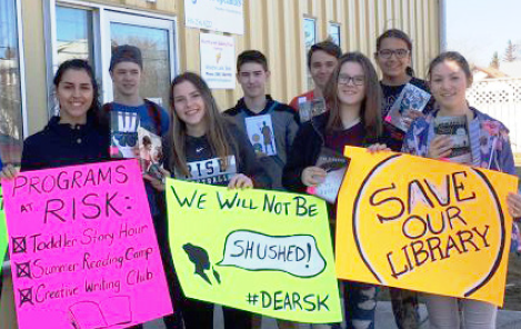 DEAR demonstration at MLA's office in Meadow Lake, Saskatchewan