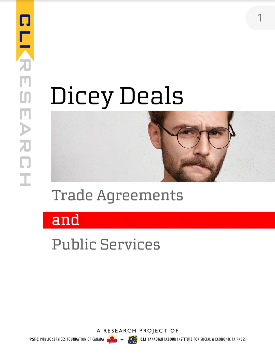 Dicey Deals: Trade Agreements and Public Services