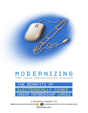 Modernizing the Union Certification Process: The Benefits of Electronically Signed Union Membership Cards