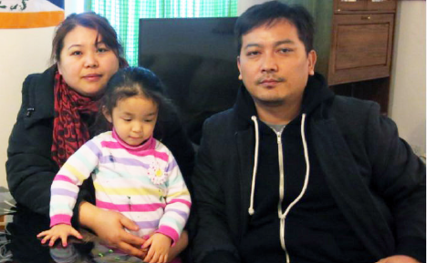 Namgyal Lhamo, a Tibetan refugee, her daughter Kunga, and Dawa Tsering say they can't afford back to back rent increases being sought by their landlord   (Manisha Krishnan / Toronto Star)