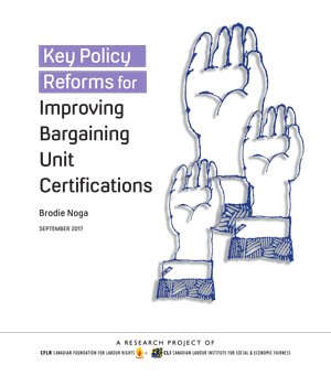 Key Policy Reforms for Improving Bargaining Unit Certifications