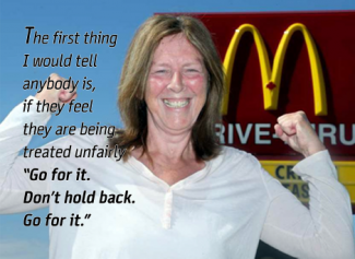 Esther Brake, a longtime McDonalds manager in Ottawa